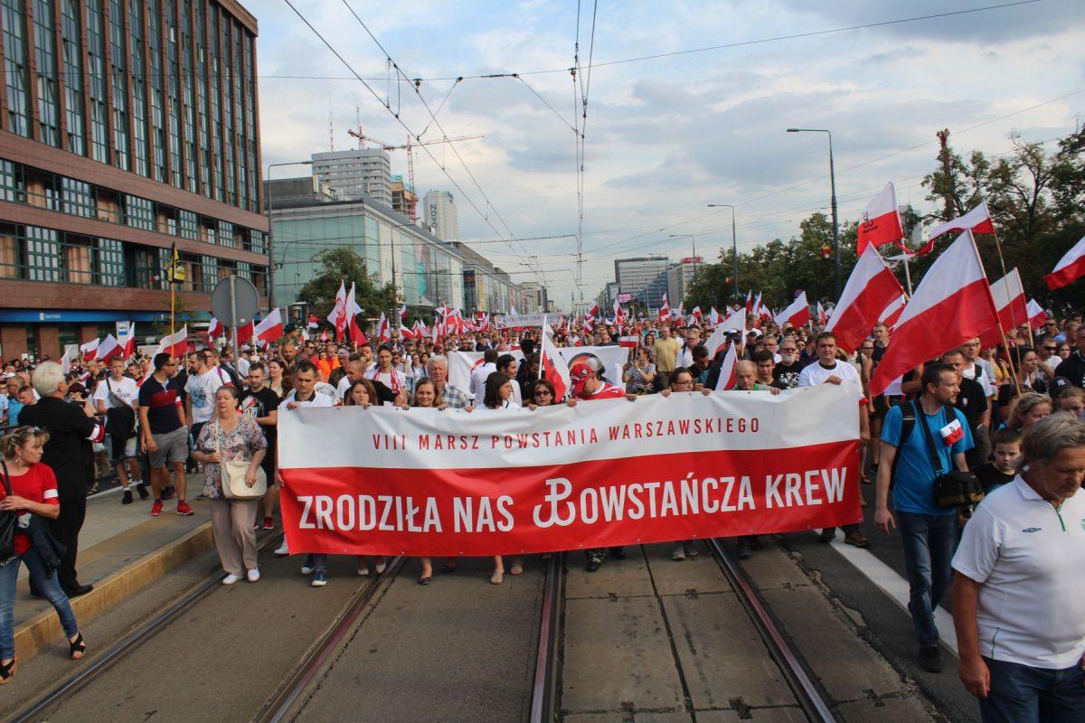 Marsz Powstania Warszawskiego 2019 [TRASA + SZCZEGÓŁY]