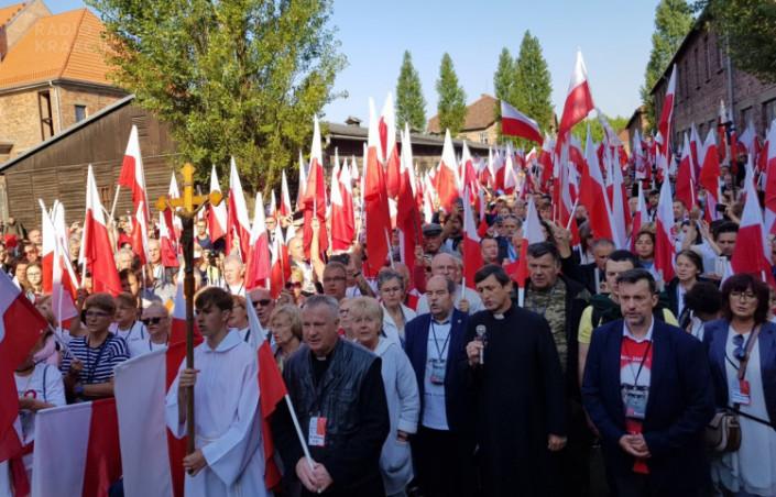Roty Niepodległości na Marszu Polaków i Polonii w Oświęcimiu