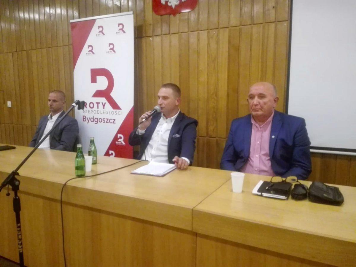 Bydgoszcz: Spotkanie otwarte z Bąkiewiczem i rekrutacja do Rot