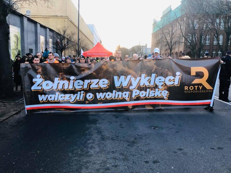 Roty Niepodległości uczciły pamięć o Żołnierzach Wyklętych