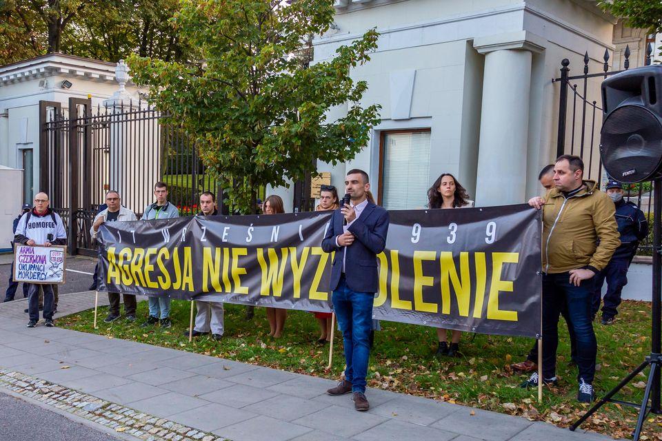 17 września – pikieta pod Ambasadę Rosji