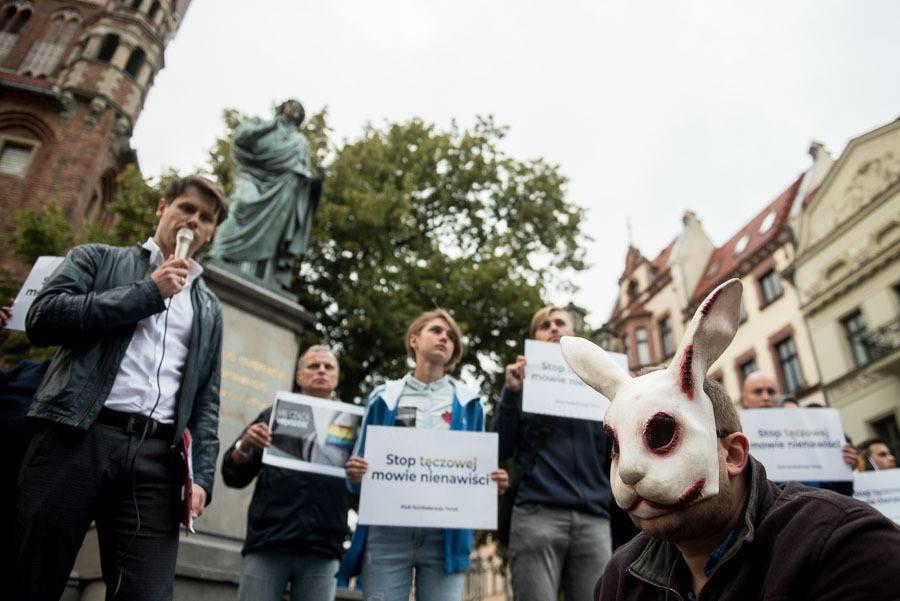 Toruń walczy z aktywistami LGBT