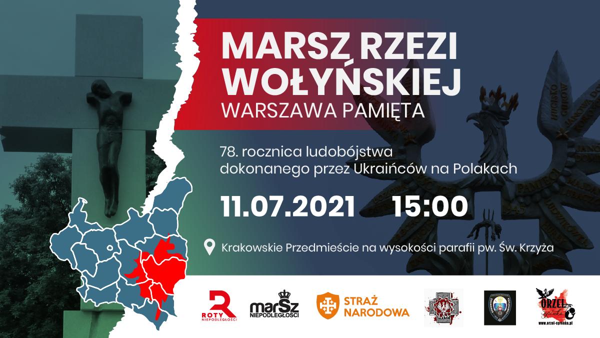 11 lipca odbędzie się Marsz Rzezi Wołyńskiej