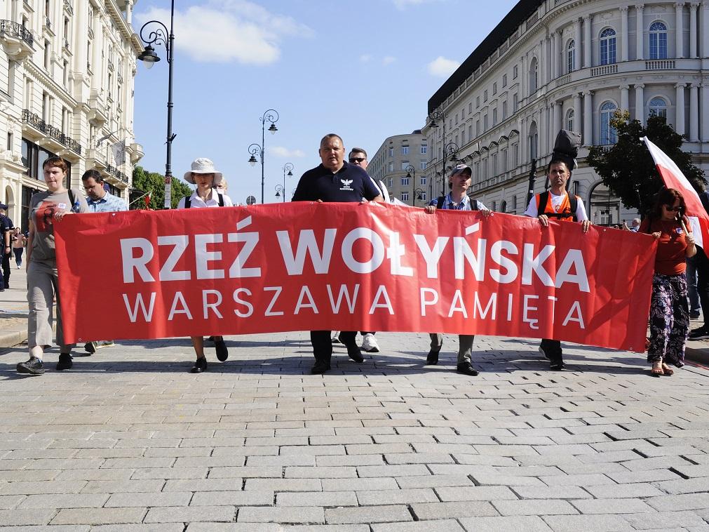 Marsz Rzezi Wołyńskiej Warszawa Pamięta